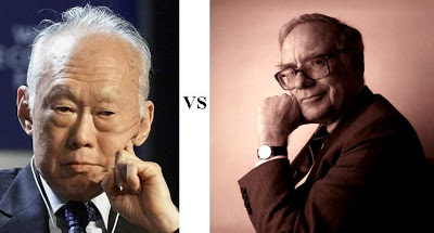 Lee Kuan Yew & Warren Buffett: 5 Glaring Similarities That Explain Their Success
