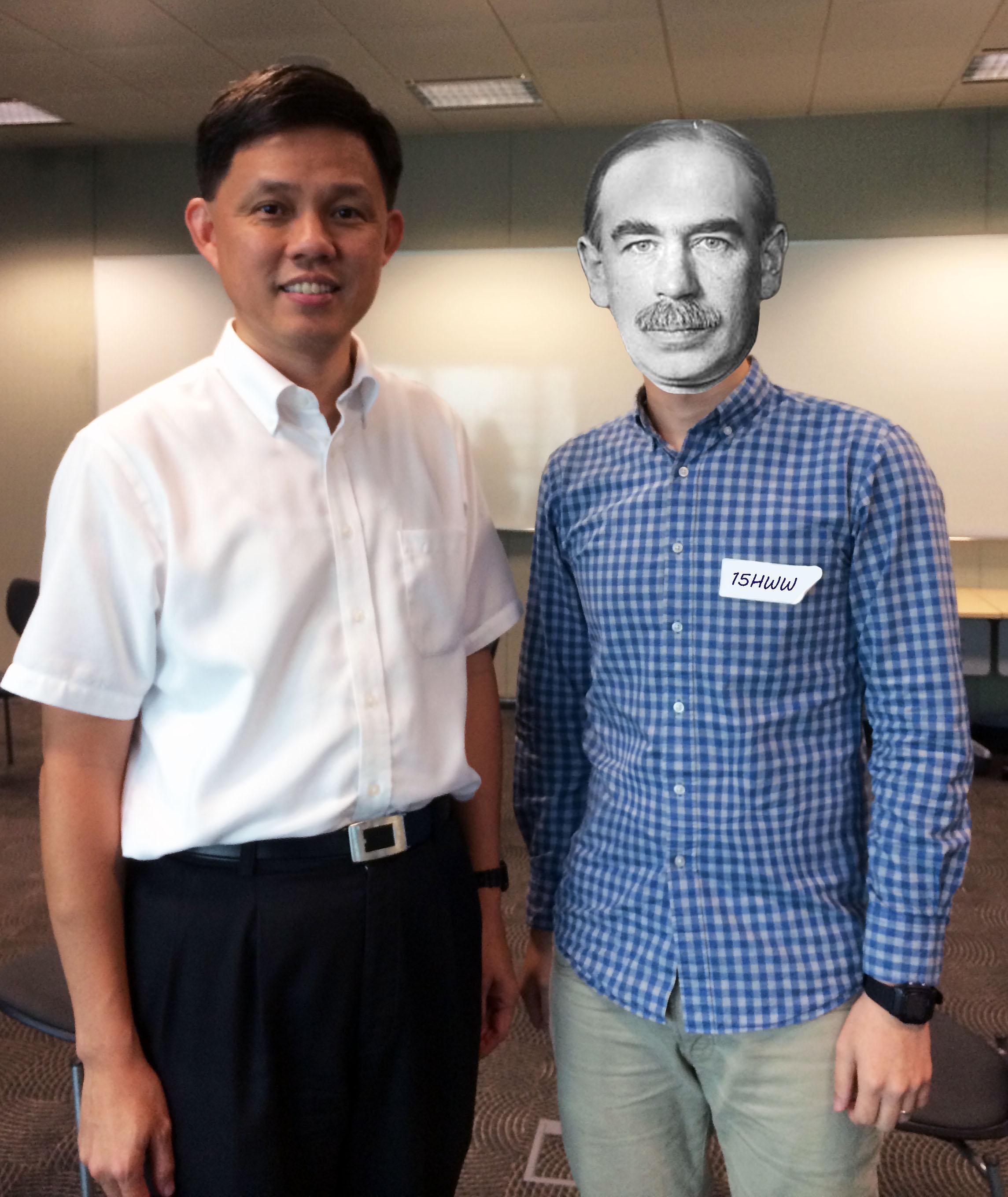 Keynes with CCS